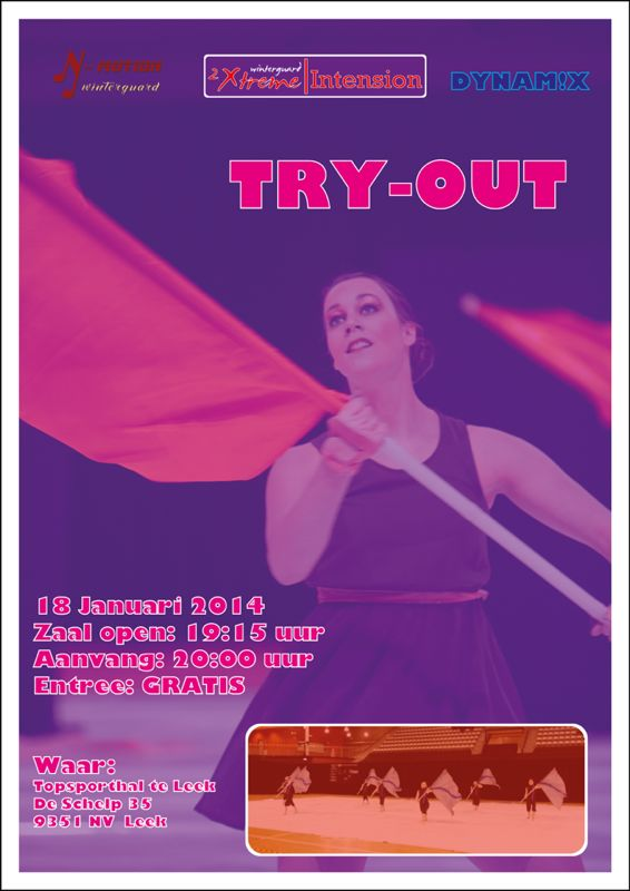 TRY OUT 2014